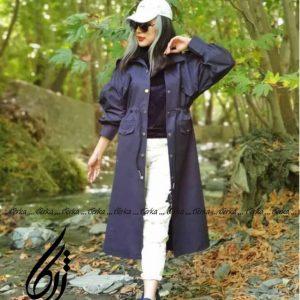 پالتو بلند زنانه تولیدی ژرکا