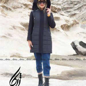 کاپشن زنانه اسپرت مشکی