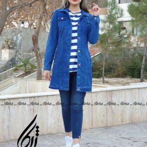 خرید مانتو لی دخترانه عیدانه 1400 ژرکا اسپرت (4)